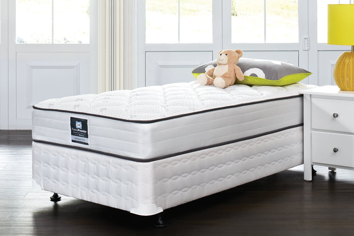 Spinecare Firm King Single Bed by Sealy King single bed
