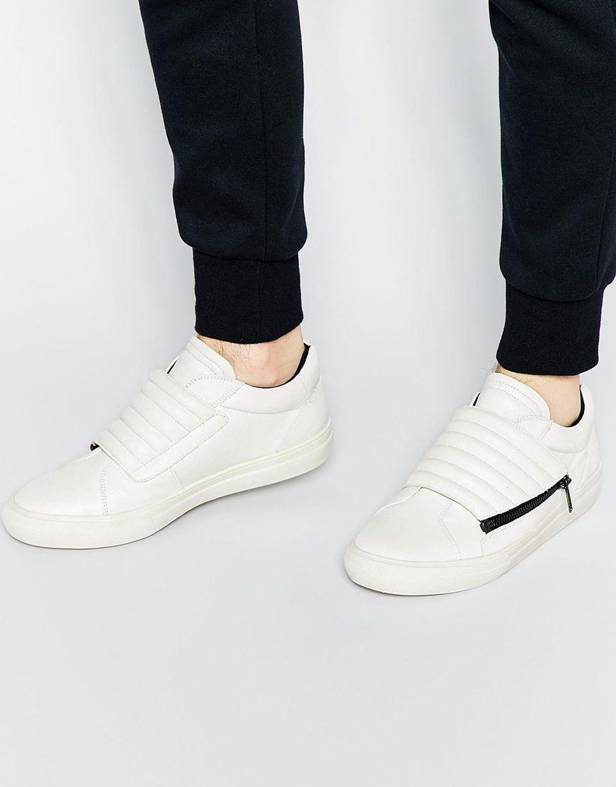 Buy Men Shoes / Aldo Yeroubaal Leather Low Trainer