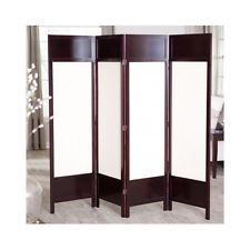 Perfect Canvas Screen Room Divider Home Office Portable Folding Panel Privacy  Partitions