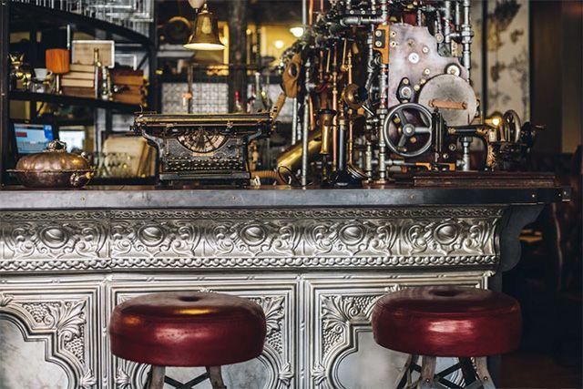 Step Inside Truth, a Steampunk Coffee Shop in Cape Town, South Africa steampunk south africa interior design coffee