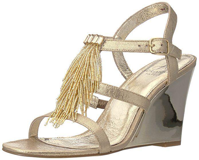 30 Best Gold Wedding Wedges High Heel Sandals Wedges Wedge Sandals Wedding Wedding Wedges