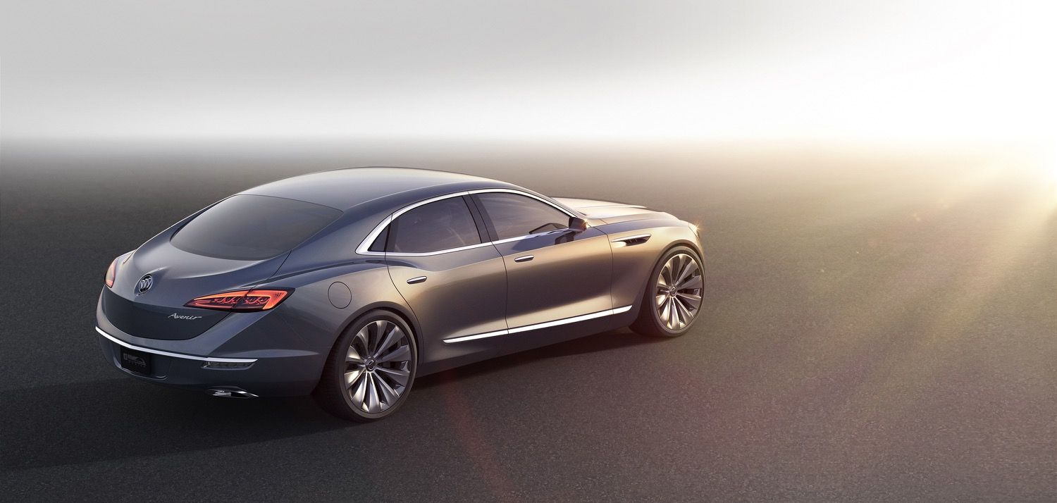 Cars buick avenir concept previews future flagship gm authority