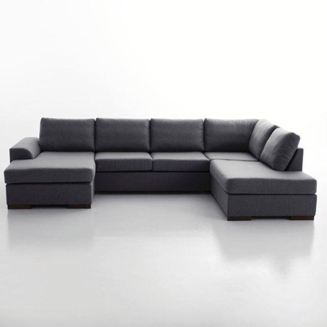 Canapé d angle Portland Son revªtement chiné vous offre un effet