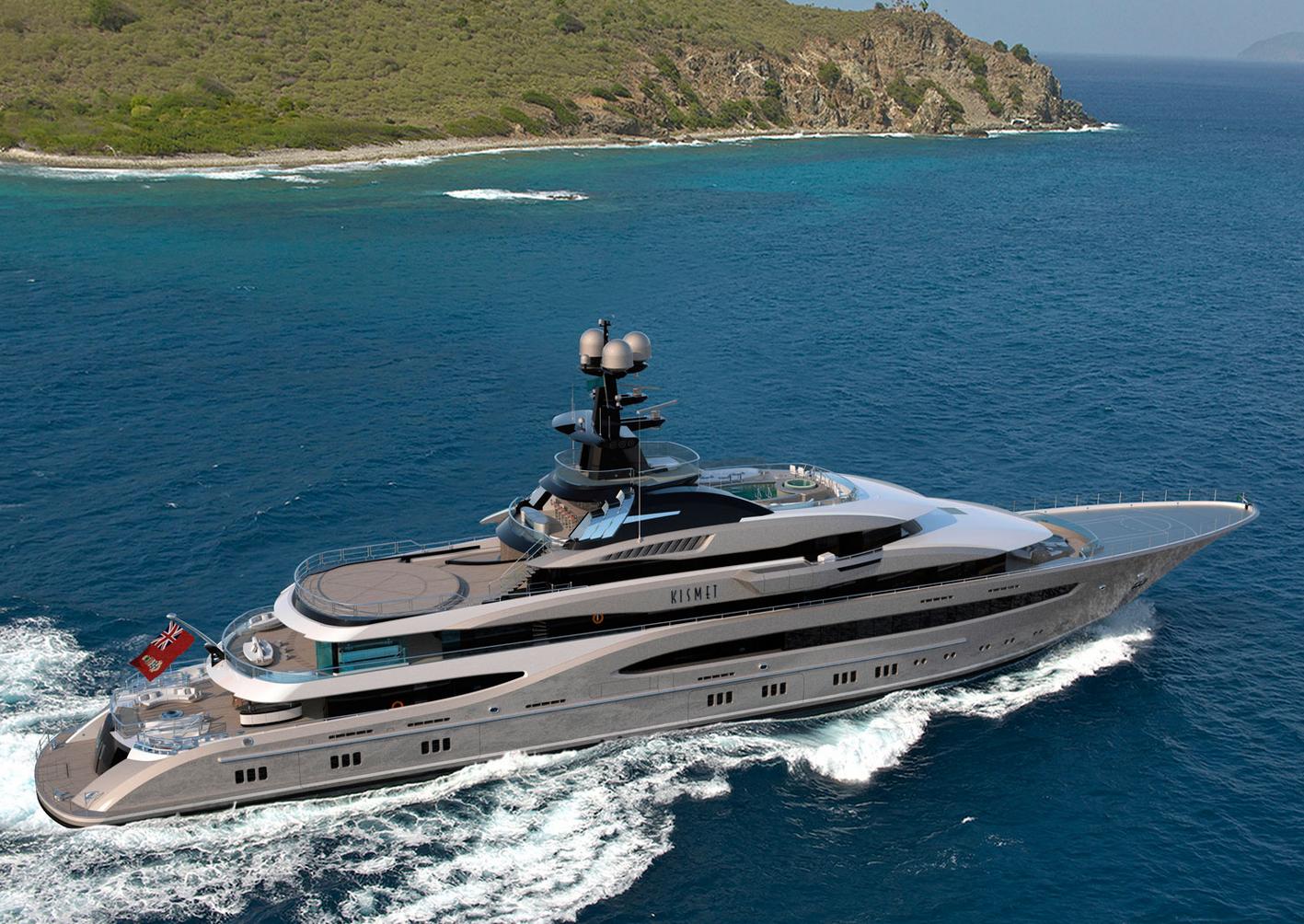 kismet ii her onboard features include a winter garden deck