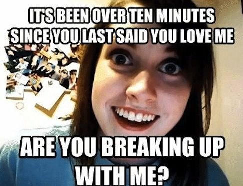 Dating a crazy girl from the internet