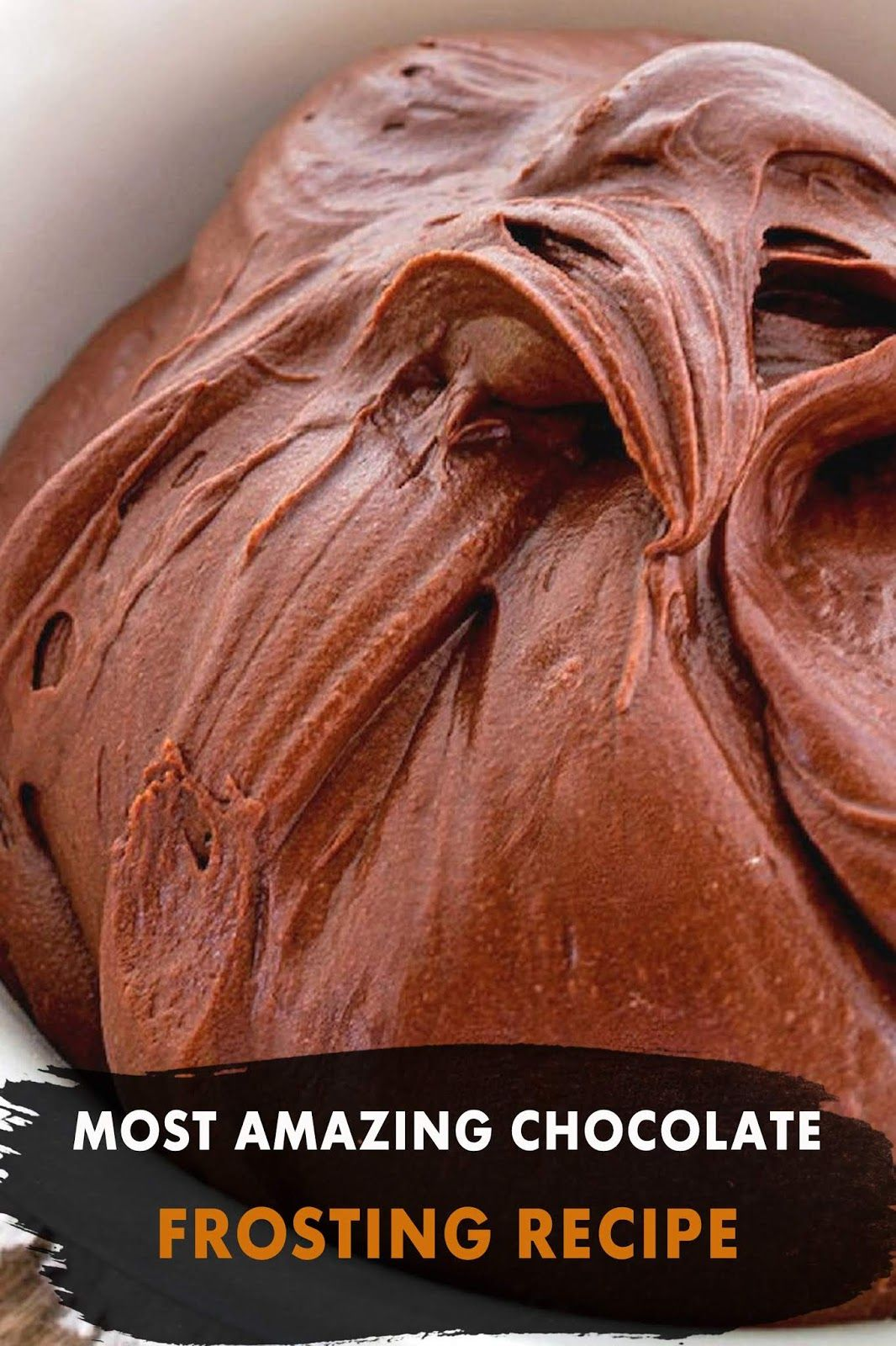 MOST AMAZING CHOCOLATE FROSTING RECIPE in 2020 Chocolate