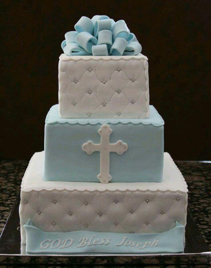 Boy Baptism Cake & Boy Baptism Cake | baptism Ideas | Pinterest | Boy baptism cakes and ...