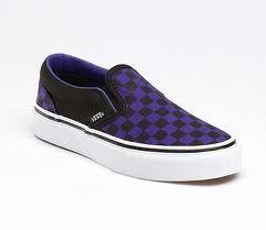purple checkered vans | Vans, Vans