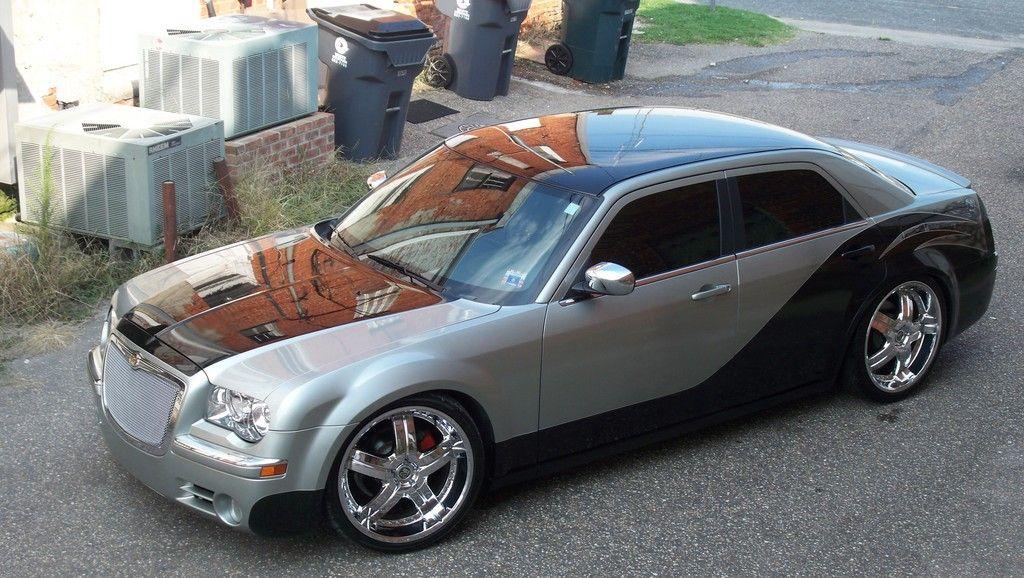 black & gray Chrysler 300 Chrysler 300, Chrysler, Dream cars