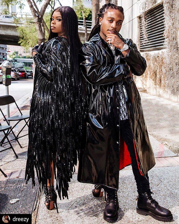 Gossip Grind Celebrity Gossip On Instagram Dreezy Jacquees In 2020 Black Celebrity Gossip Black Women Hairstyles Style