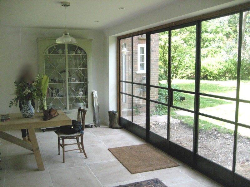Crittall door screen by lightfoot windows kent ltd - 28 inch exterior steel door for sale ...