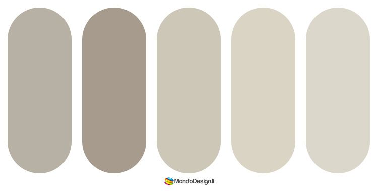 Le pareti potranno richiamare uno dei toni di beige, il pavimento il medesimo marrone del fondo, mentre per le sedie rivestite. Color Tortora Abbinamenti E Idee Di Arredamento Mondodesign It Pareti Casa Beige Colori Pareti Beige Colori
