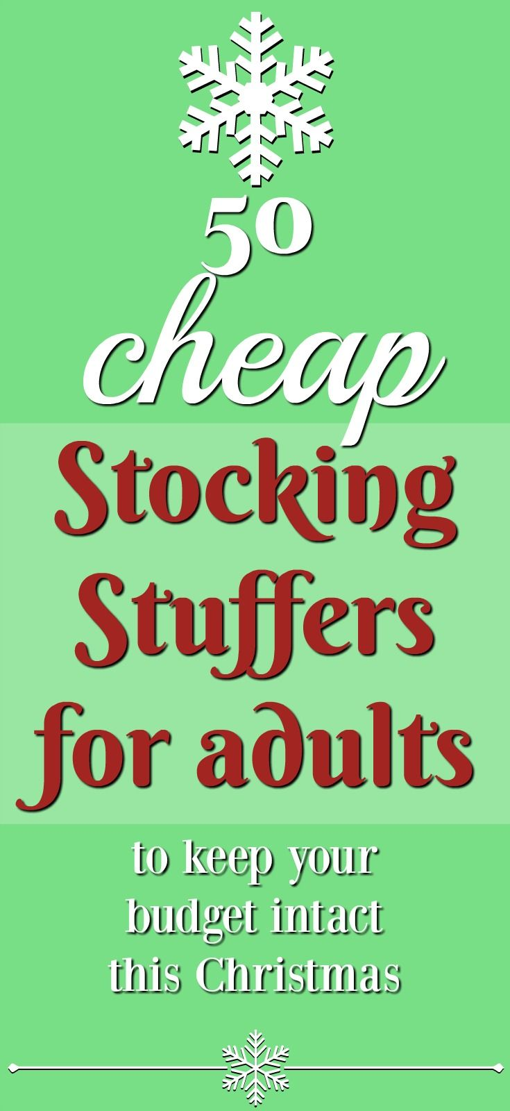 50 Cheap Stocking Stuffers Under 5 For Adults Gift Ideas