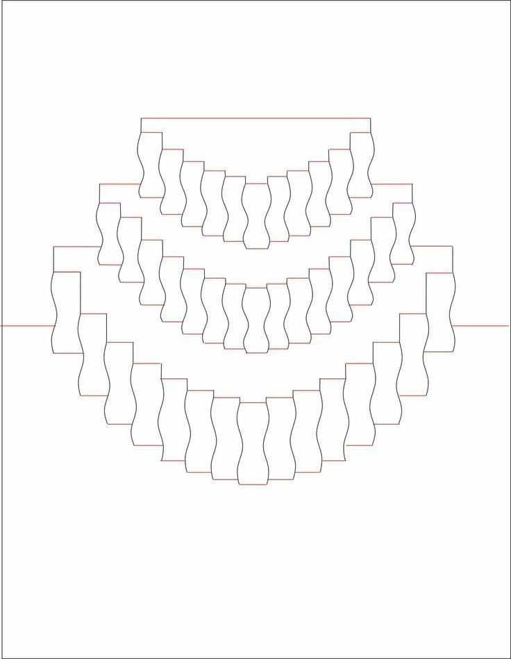 Create a card that moves, pops and stands all at once with this - birthday cake card template