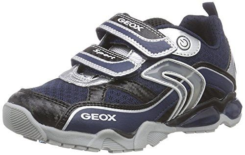 Geox J Android Boy a, Zapatillas para Niños, Blau (Navy/Lt Blue), 31 EU