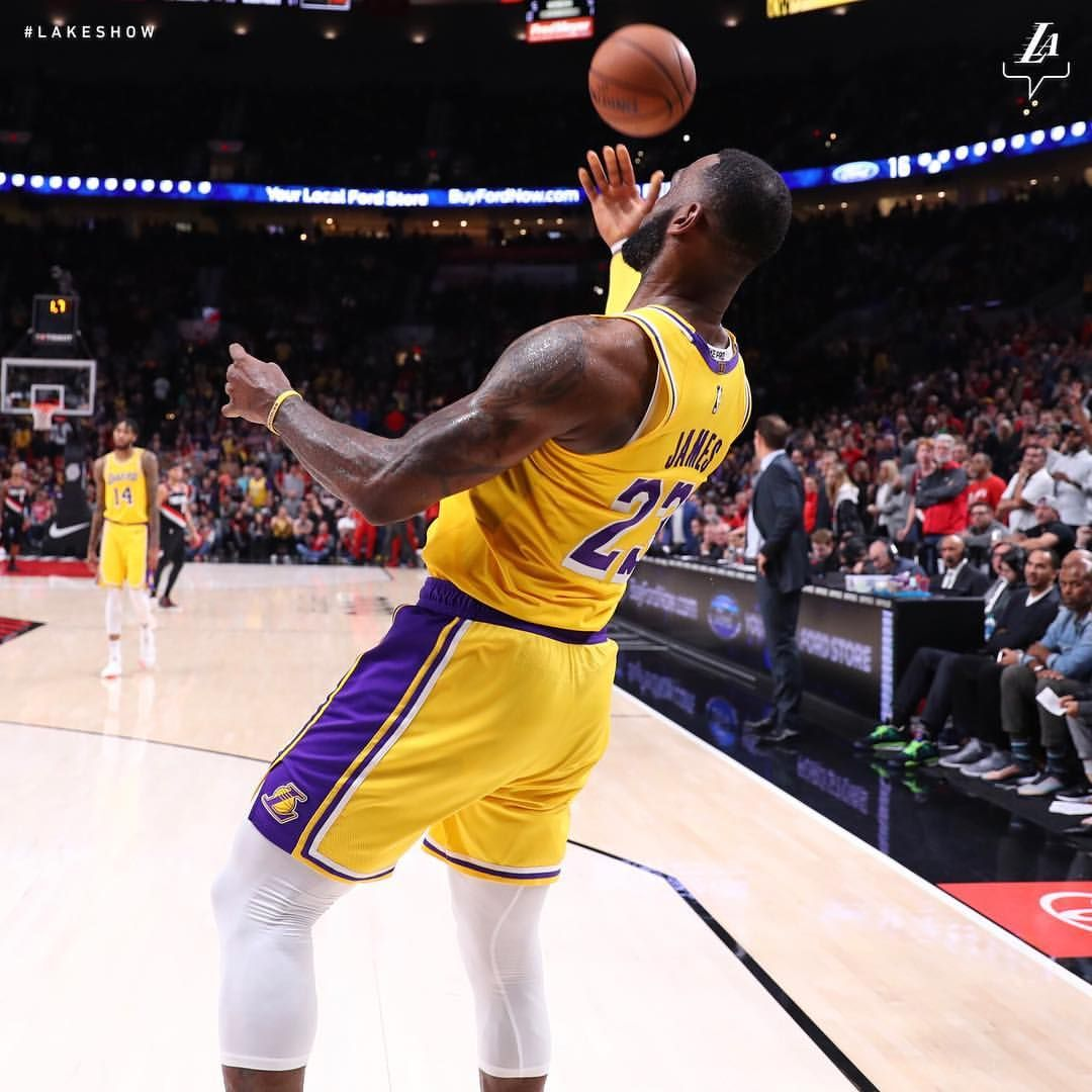 Los Angeles Lakers On Instagram Lakers Outlast The Blazers And Are Headed Home With A Win Rondo Was The Tonight Delivering With Images Basketball Los Angeles Lakers