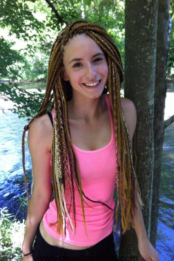 Lange Geflochtene Frisuren Fur Teenager Madchen Hair 3 Box
