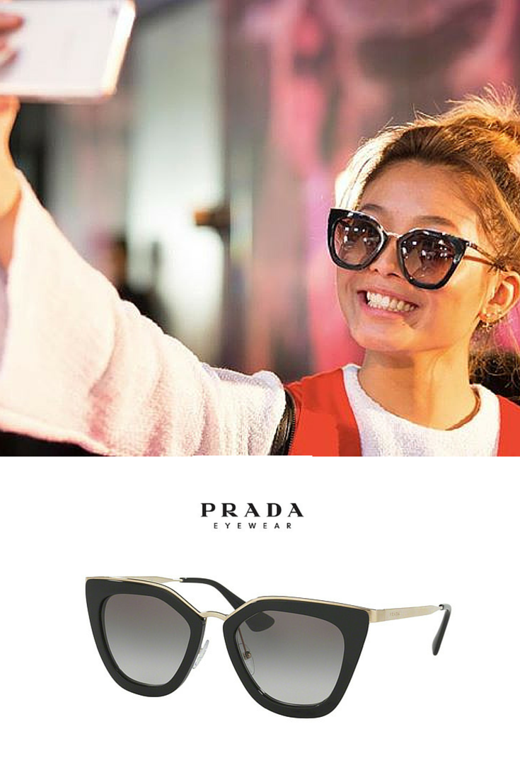 d074d376f7 Directly from  Australian  FashionWeek  amazing style with Prada PR53SS  CINEMA Evolution  sunglasses