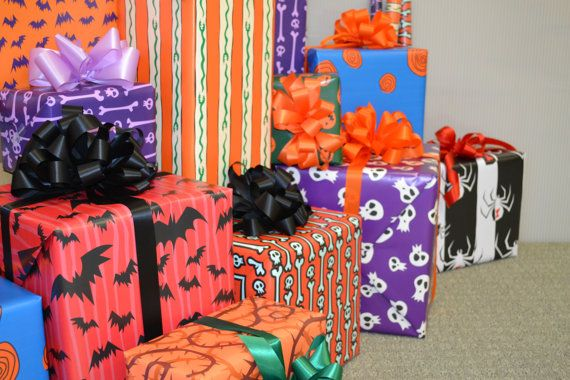 nightmare before christmas wrapping paper by wilicristudio on etsy 1600