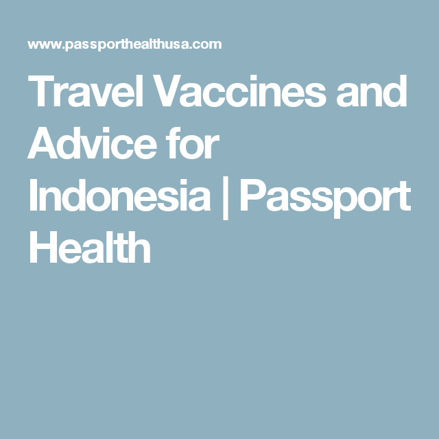 travel vaccines and advice for indonesia   passport health   mijn      rh   pinterest com