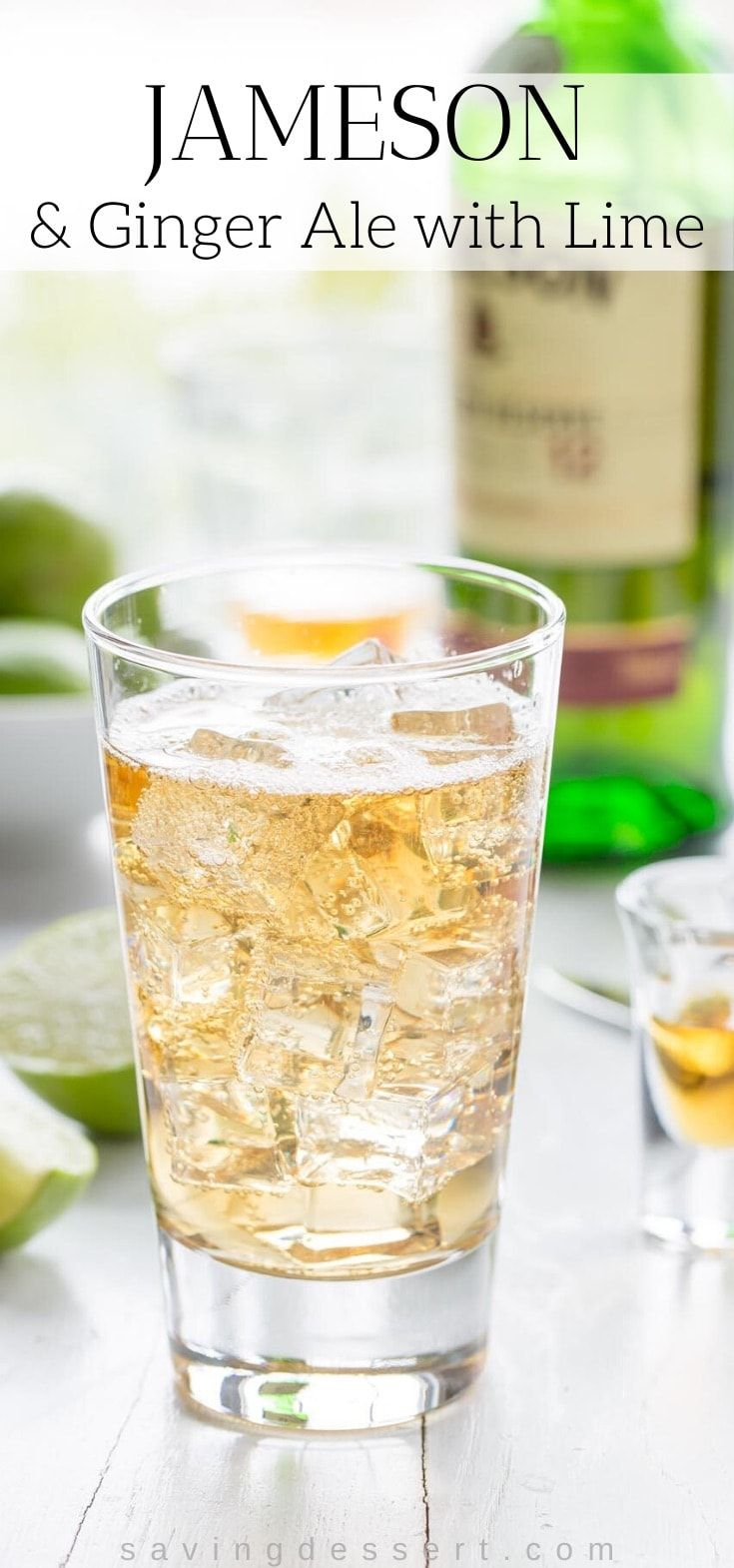 Photo of Jameson & Ginger Ale with Lime