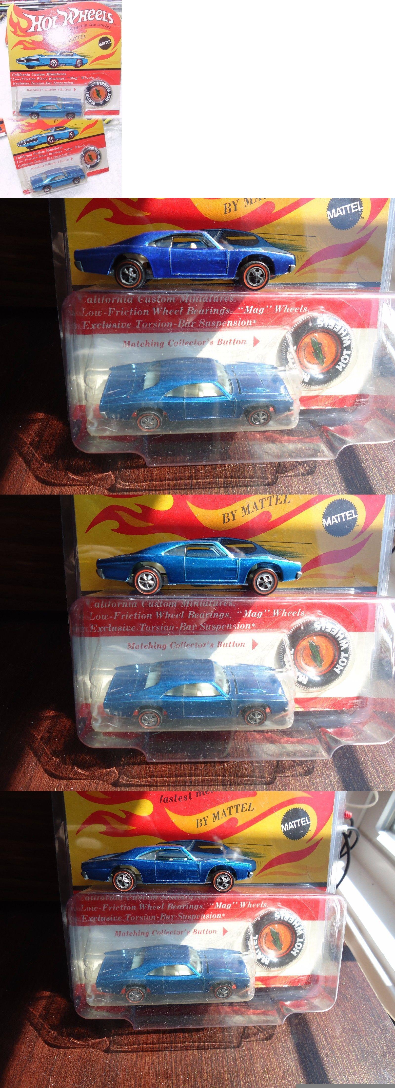 Hot wheels blackwall spider man web spider car hk superb ebay - Vintage Manufacture 180507 Vintage Hot Wheels Redline Medium Blue Custom Charger Redline On Unpunched Card