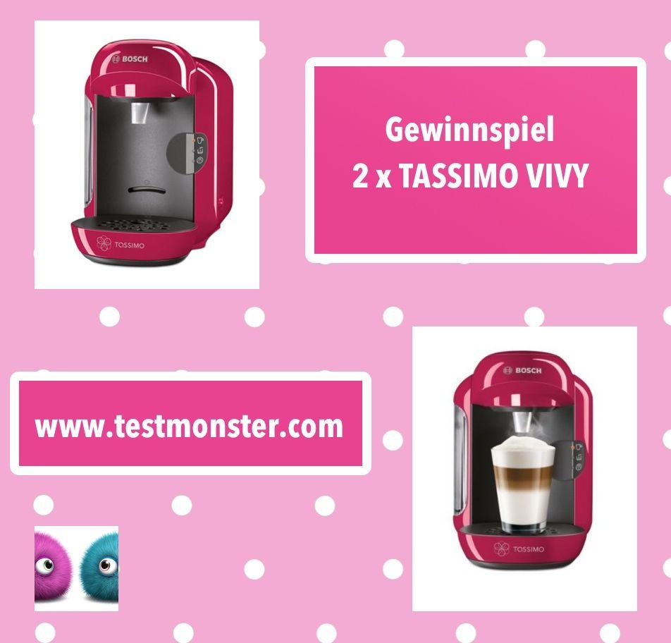 Testmonster Testmonsterblog Gewinnspiel Tassimo