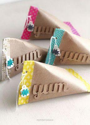 10 formas creativas para envolver regalos con tubos de - Manualidades con rollos de papel higienico para navidad ...