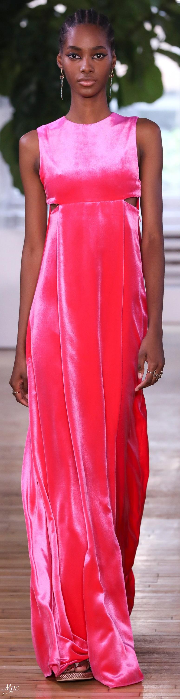 Resort 2018 Valentino | Vestidos largos | Pinterest | Alta costura ...