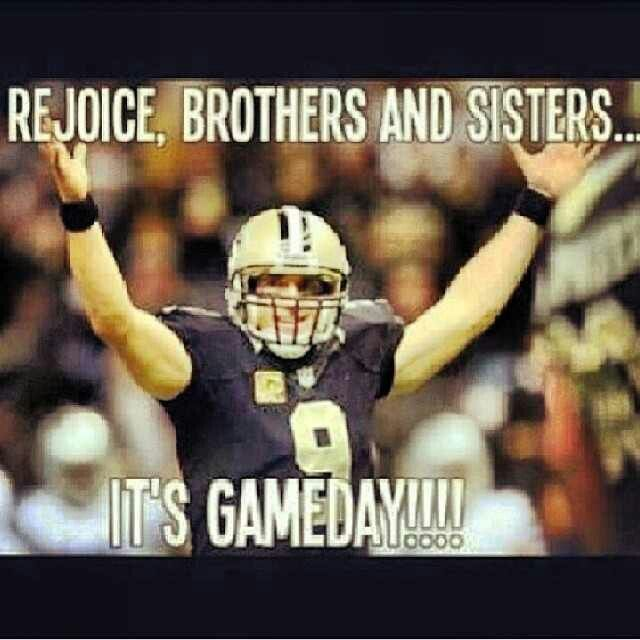 Saints Gameday Saints Game Saints Memes New Orleans Saints Football