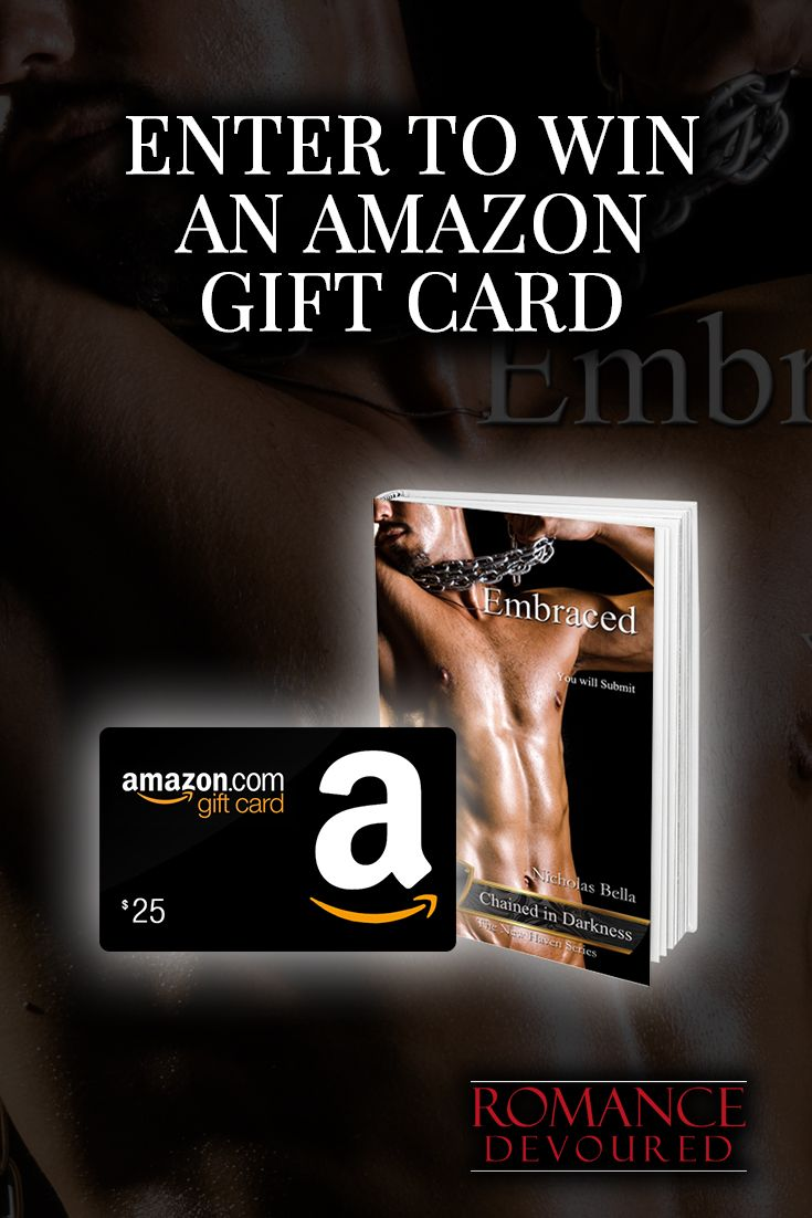 Win a $25 or $10 Amazon Gift Card from Bestselling Author Nicholas Bella
