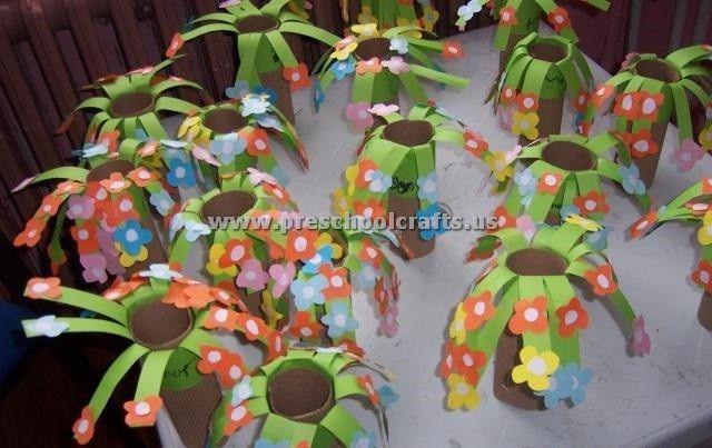 Spring Flowers Craft Ideas For Preschool