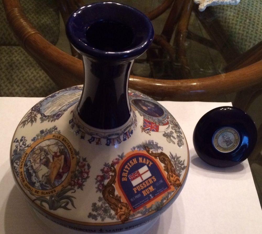 Original wade nahon porcelain british navy pussers rum ship porcelain reviewsmspy