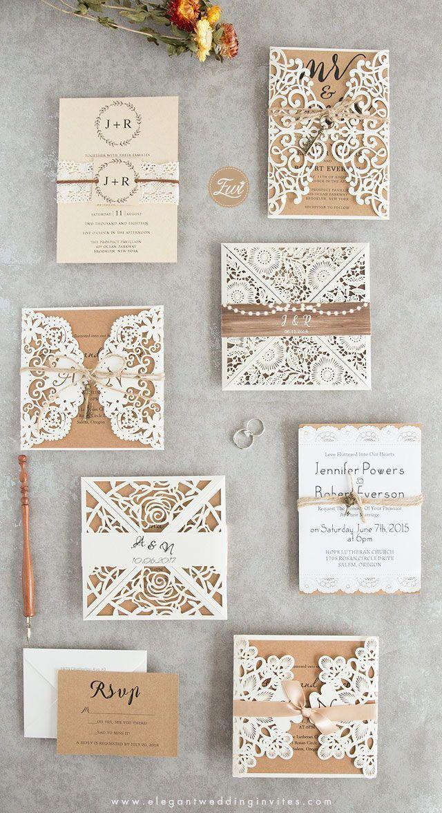 Photo of Preiswerte und rustikale Hochzeits-Einladungen so niedrig wi…