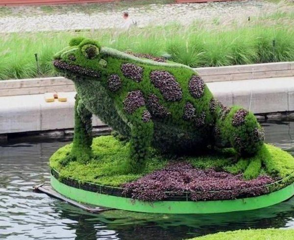 Sculpture Végétale | Art Monie: Sculptures Végétale De Montréal