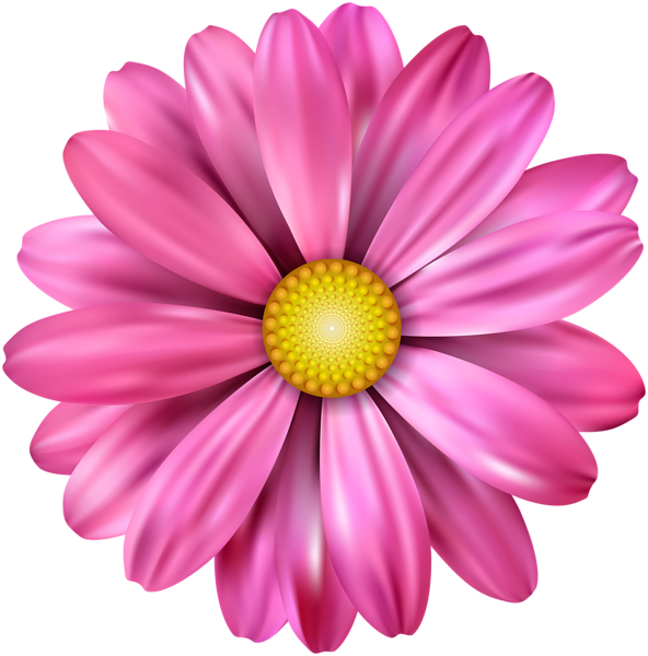 Pink Flower Transparent Image imagens) Adesivos