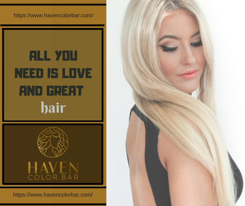 Haven Color Bar Offer Haircuts And Styling Deep Conditioning And Hair Repair Treatments As Well As Luxury Hair Repair Treatments Best Hair Salon Luxury Hair