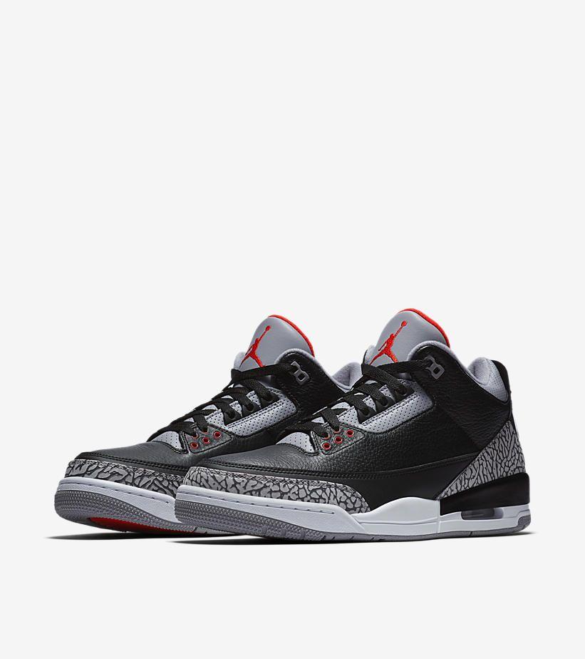 Air Jordan Iii 3 Retro Og Black Cement Release Date Saturday February 17th 2018 Jordan Shoes Retro Sneakers Men Fashion Jordan 3 Black Cement