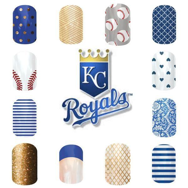 manicure KC Royals - Google Search | ROYALS | Pinterest | Manicure ...