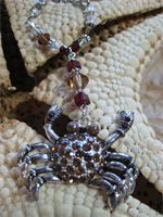 Crab Necklace   $22
