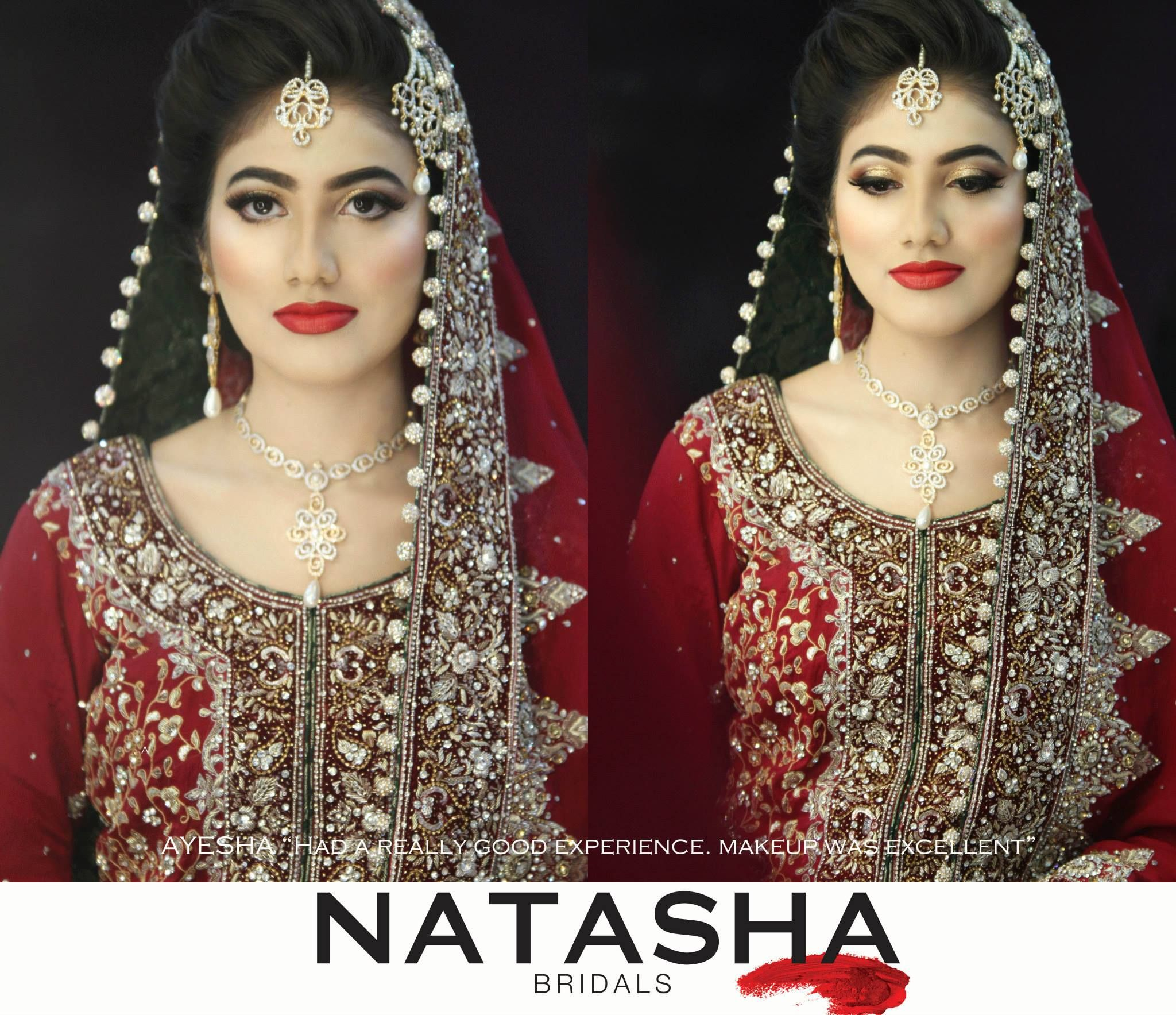 Bridal Makeup Salon Nikkah Bride Makeup By Natasha Beauty Salon Nikkah