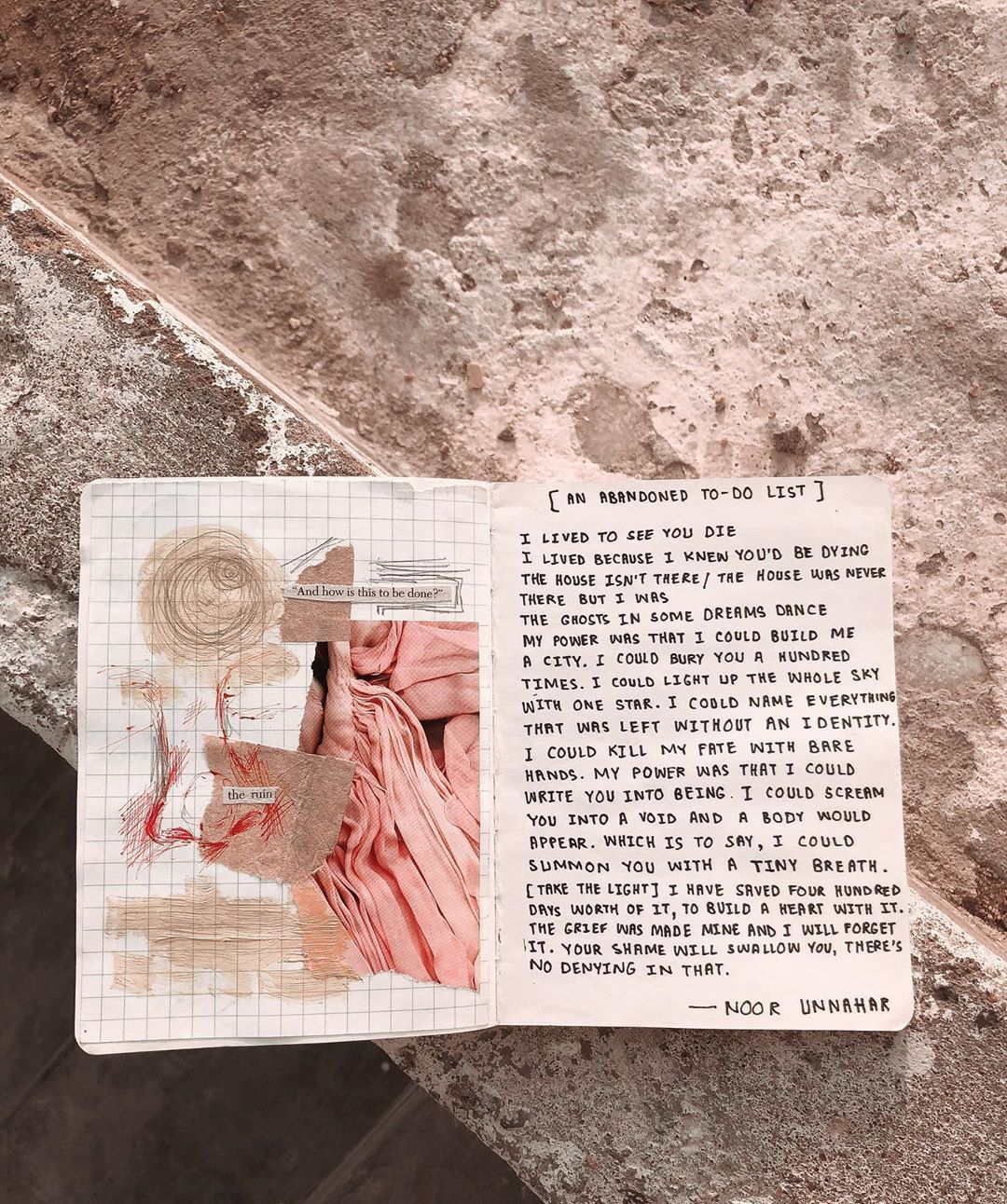 art journal, tumblr instagram warm aesthetic, quotes words ...