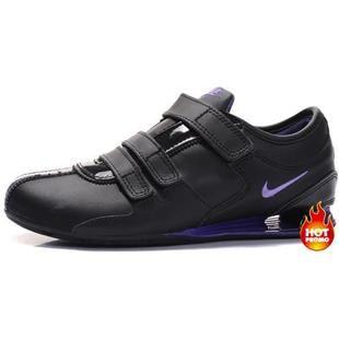 e0d6811a8b28b8 www.asneakers4u.com Womens Nike Shox R3 Velcro Black Purple