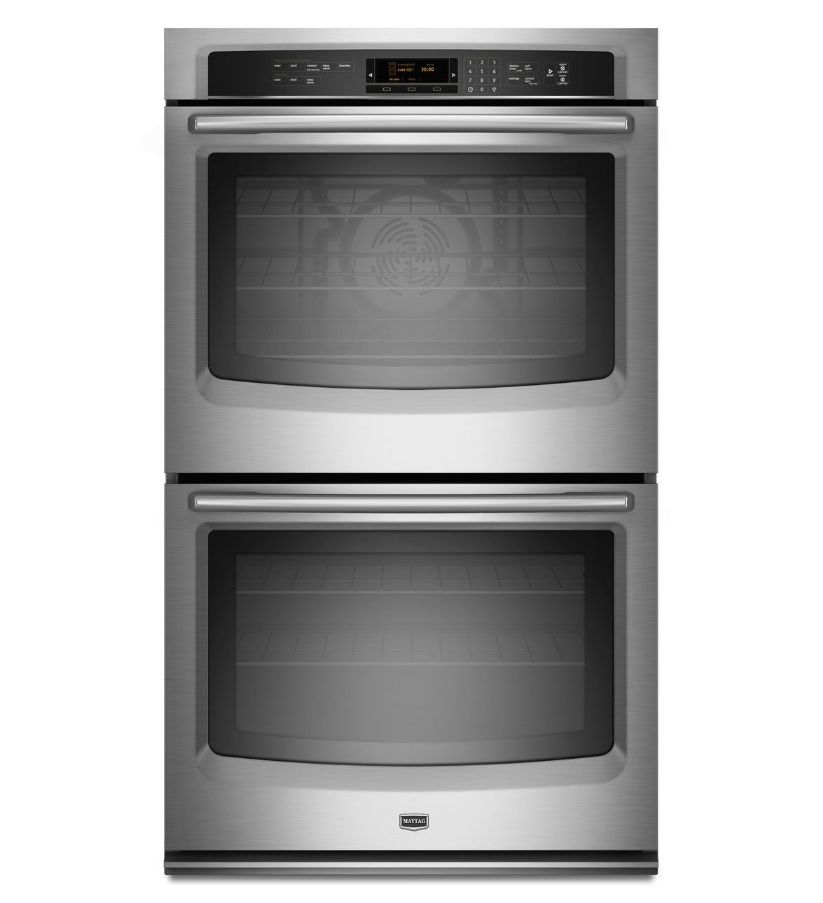 27 Inch Electric Double Wall Oven With Evenair True Convection