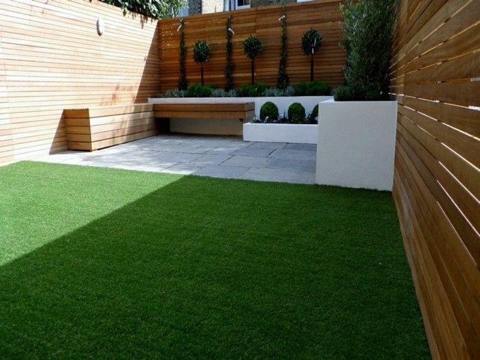garten sichtschutz ideen moderner garten | Gartengestaltung ...