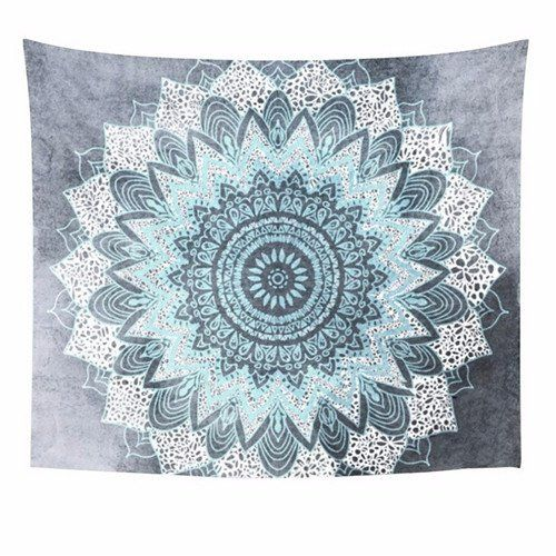 Bohemian Mandala Tapestry Wall Hanging Moroccan Indian Printed