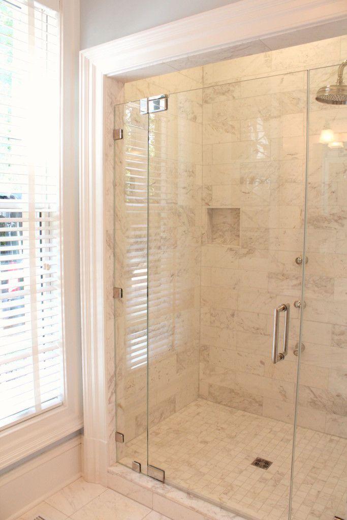 Southern Living Idea House Master Shower Bathrooms Pinterest