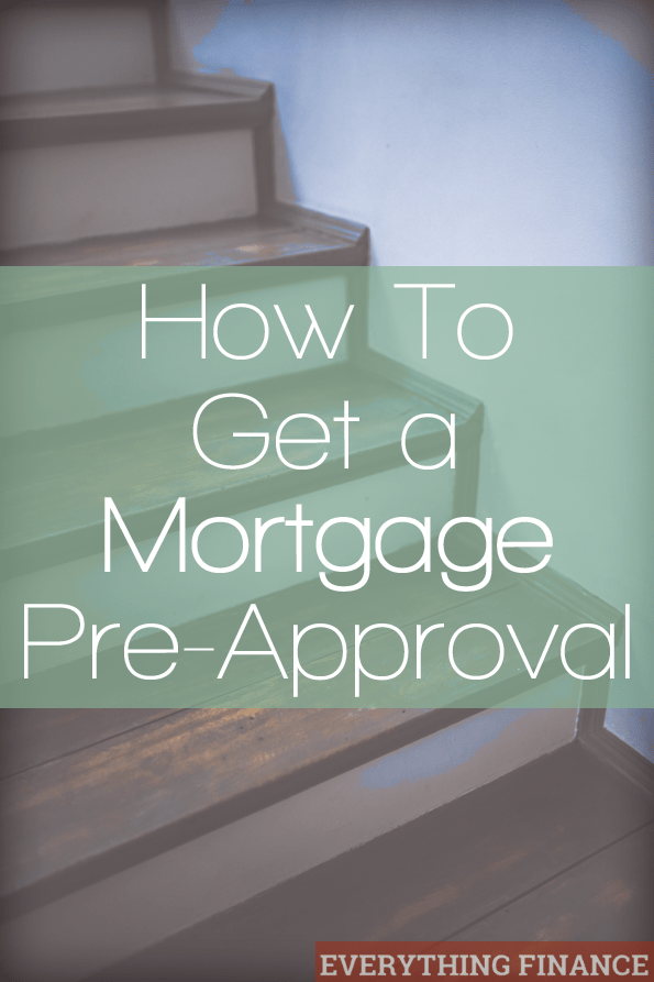 How To Get A Mortgage PreApproval