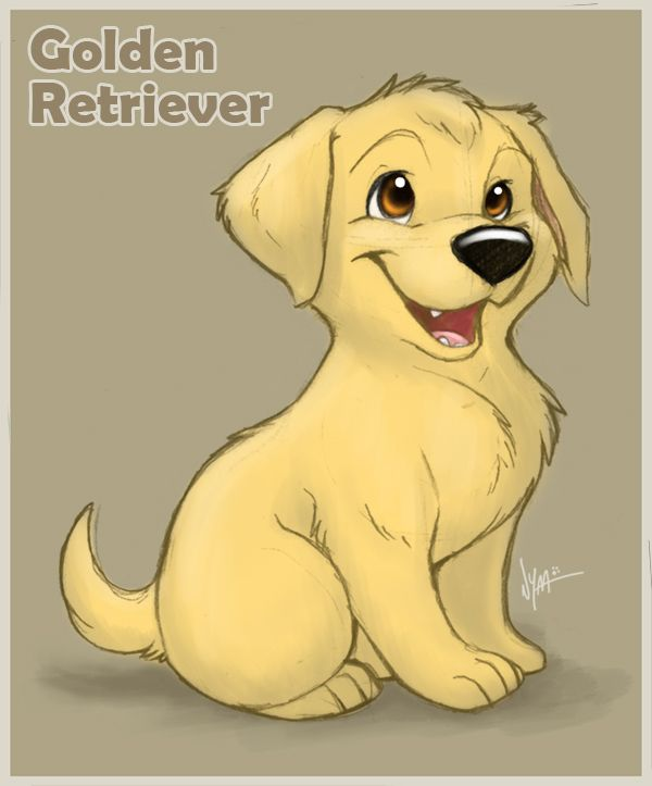 Golden Retriever Puppy By Nyaasu On Deviantart Golden Retriever