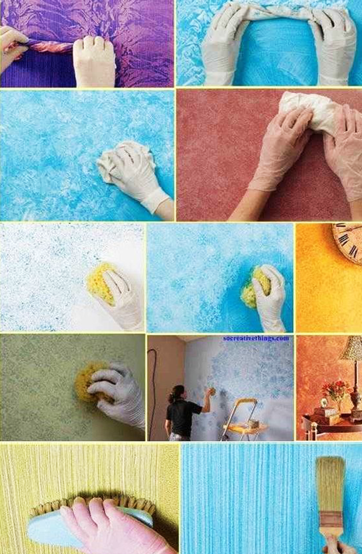 You Won T Believe How Easy It Is To Paint A Wall Like A Pro With
